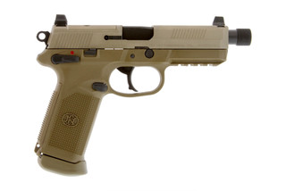 The FN FNX-45 features suppressor height iron sights