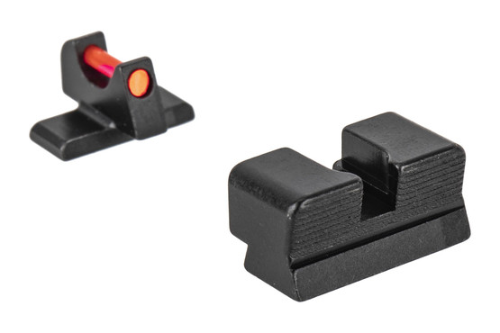 Trijicon's Fiber Sight Set for FN USA FN-509 is a high-contrast competition and carry sight set