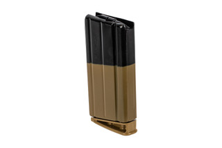 FN SCAR 17 FDE Magazine features a steel construction
