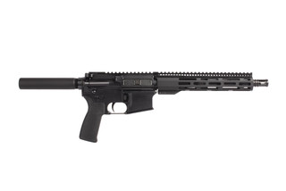 Radical Firearms 300BLK 10.5 inch AR-15 pistol has a lightweight M-LOK handguard and mission first pistol grip
