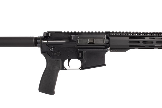 Radical complete 10.5in AR pistol is chambered for 300 BLK with an ambidextrous safety and MIL-SPEC upper receiver