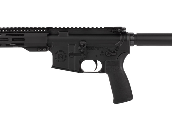Radical Firearms 10.5in 300 BLK pistol with Mission First Tactical pistol grip is compatible with .300 Whisper