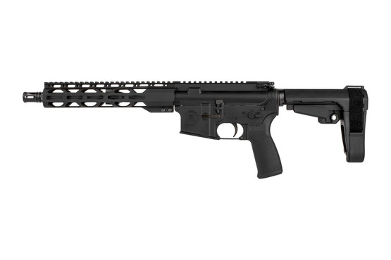 The Radical Firearms 300 blk AR15 pistol features a pistol length gas system