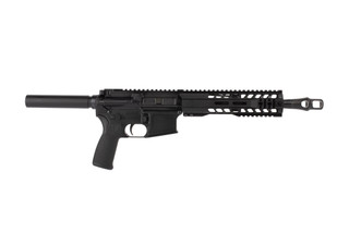 Radical Firearms 10.5in .458 SOCOM AR15 pistol features a reliable pistol length gas system