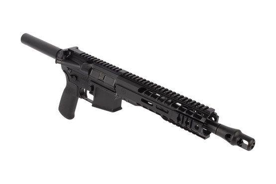 Radical Firearms 10.5in .458 SOCOM AR-15 pistol features a lightweight M-LOK handguard and effective Panzer brake