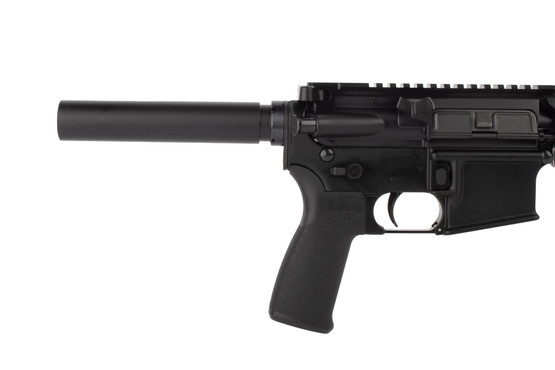 Radical Firearms .458 SOCOM 10.5in AR pistol is equipped with ambidextrous safety selector, enhanced magazine release, and pistol buffer tube