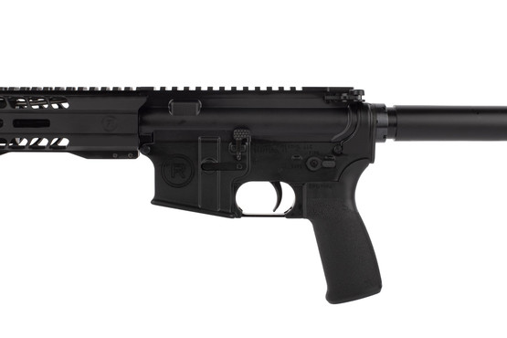 Radical Firearms 10.5in .458 SOCOM pistol with Mission First Tactical pistol grip is compatible with .50 Beowulf ammunition