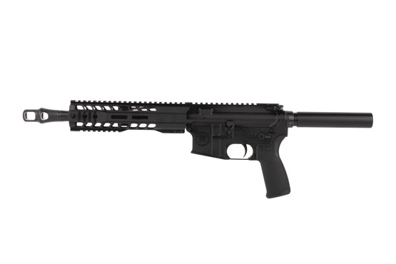 Radical .458 SOCOM 10.5in AR-15 pistol features a 9 inch free float M-LOK hybrid handguard