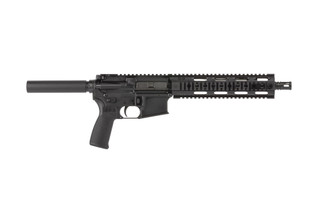 Radical Firearms 5.56x45mm AR15 pistol with 10.5in barrel utilizes a reliable pistol length gas system for optimal function