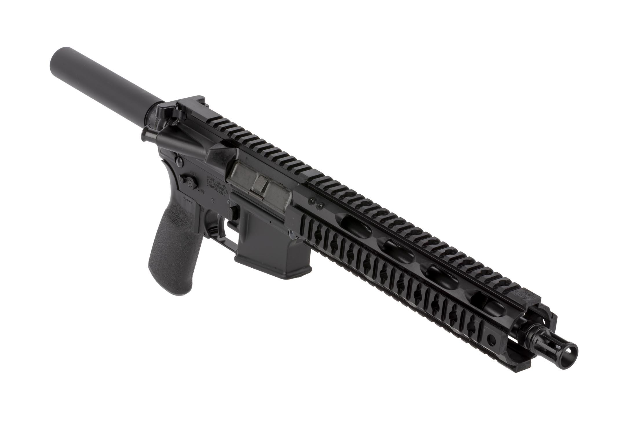 Radical Firearms 10.5in AR-15 pistol in 5.56 NATO is built with a lightweight 10in free float quad rail handguard