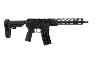 The Radical Firearms 10.5 inch 5.56 Pistol with RPR M-LOK handguard SBA3 brace features a carbine gas system