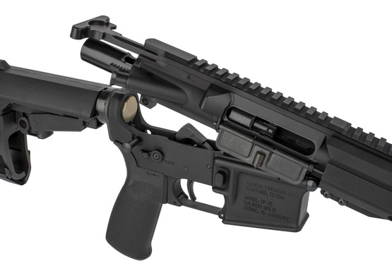 The radical Firearms 5.56 AR-15 pistol comes with an M16 bolt carrier group and standard charging handle