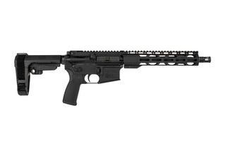 The Radical Firearms 7.62x39 Pistol with 10.5 inch barrel features an RPR handguard and SBA3 arm brace