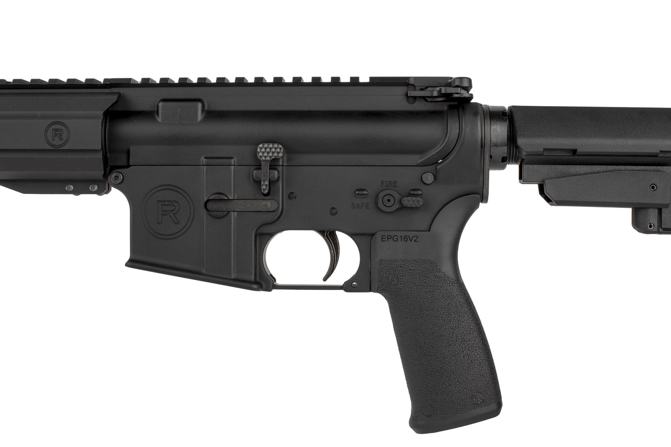 The 7.62x39 AR pistol from Radical Firearms comes with an extended billet bolt release