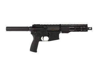 Radical Firearms 7.5in 5.56 NATO AR15 pistol features a reliable carbine length gas system