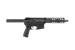Radical Firearms 5.56 NATO 7.5in AR-15 pistol has a lightweight 7in KeyMod FTR free float handguard and A2 flash hider