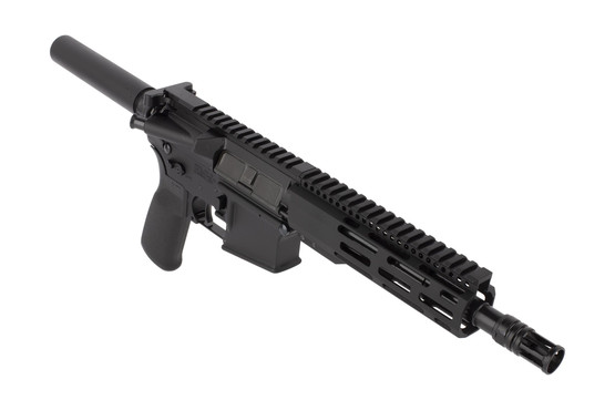 Radical Firearms 8.5in 300 BLK AR-15 pistol features a lightweight M-LOK handguard and effective Panzer brake