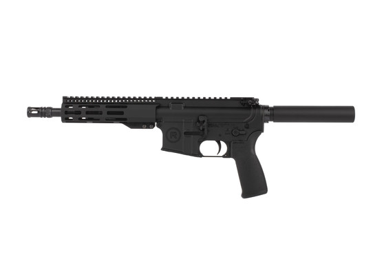 Radical 300 BLK 8.5in AR-15 pistol features a lightweight 7 inch free float M-LOK handguard