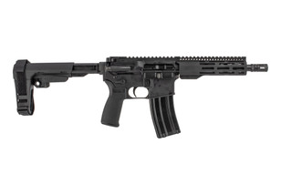 The Radical Firearms 300 BLK Pistol with SBA3 brace and FCR M-LOK handguard features an 8.5 inch barrel