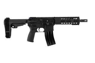The Radical Firearms 300 BLK Pistol featurs the MHR Handguard and an 8.5 inch barrel