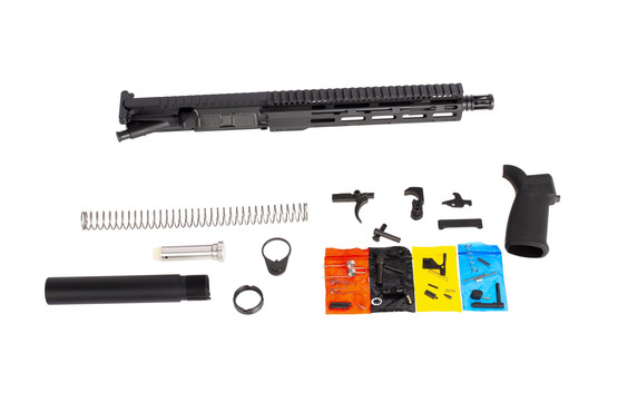 Radical Firearms 7.62x39mm pistol kit includes a complete 10.5in upper receiver with lower parts kit, and pistol buffer kit