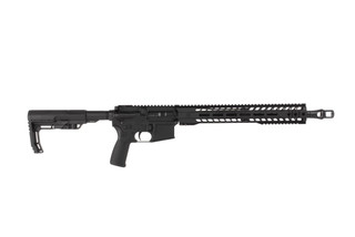 Radical Firearms 16in 12.7x42mm AR15 carbine features a reliable carbine length gas system