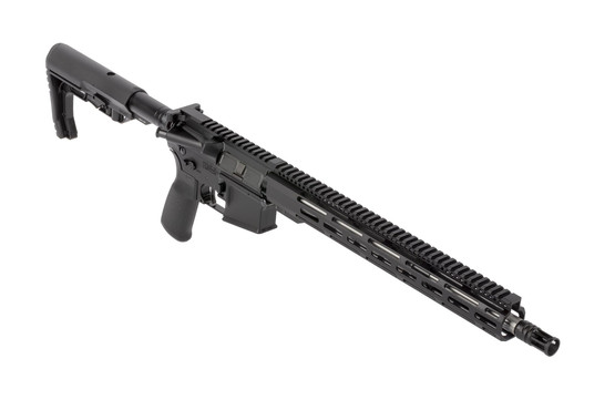 "Radical Firearms complete 16"" AR-15 carbine features a stainless steel .223 Wylde barrel and 15"" M-LOK handguard"