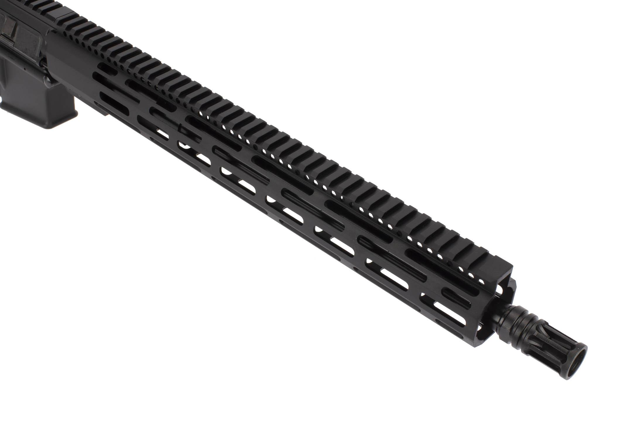 Radical Firearms 16in AR-15 in 300 BLK with M-LOK rail features 5/8x24 threading with an A2 flash hider
