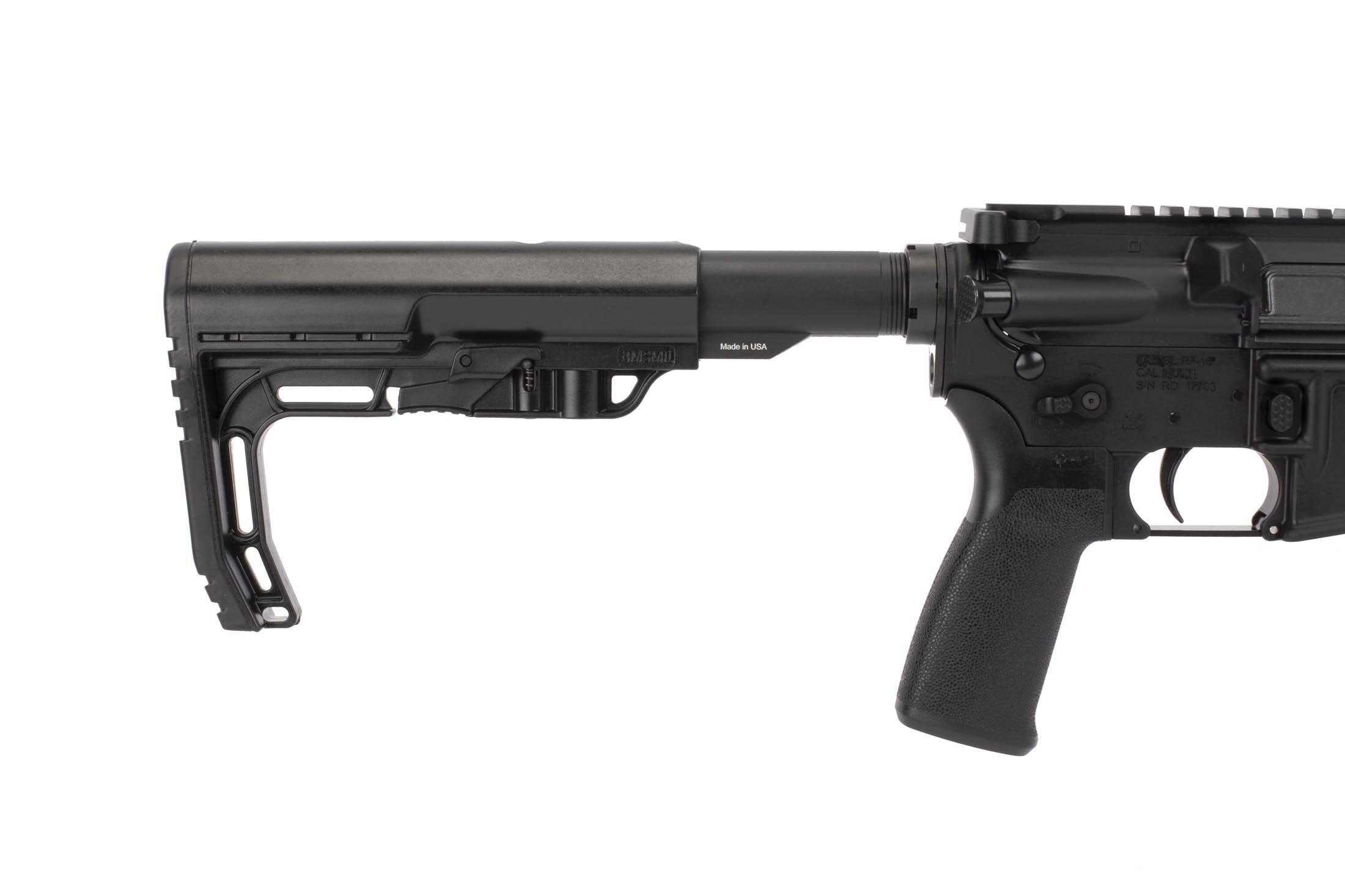 Radical Firearms 300 BLK 16in AR-15 includes a MIL-SPEC Mission First Tactical Minimalist carbine stock
