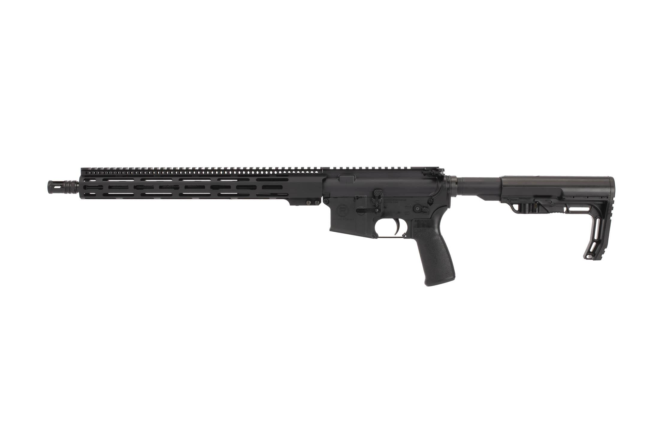 Radical Firearsm 300 BLK 16in AR-15 is equipped with a new 3rd gen M-LOK rail with improved mounting system.