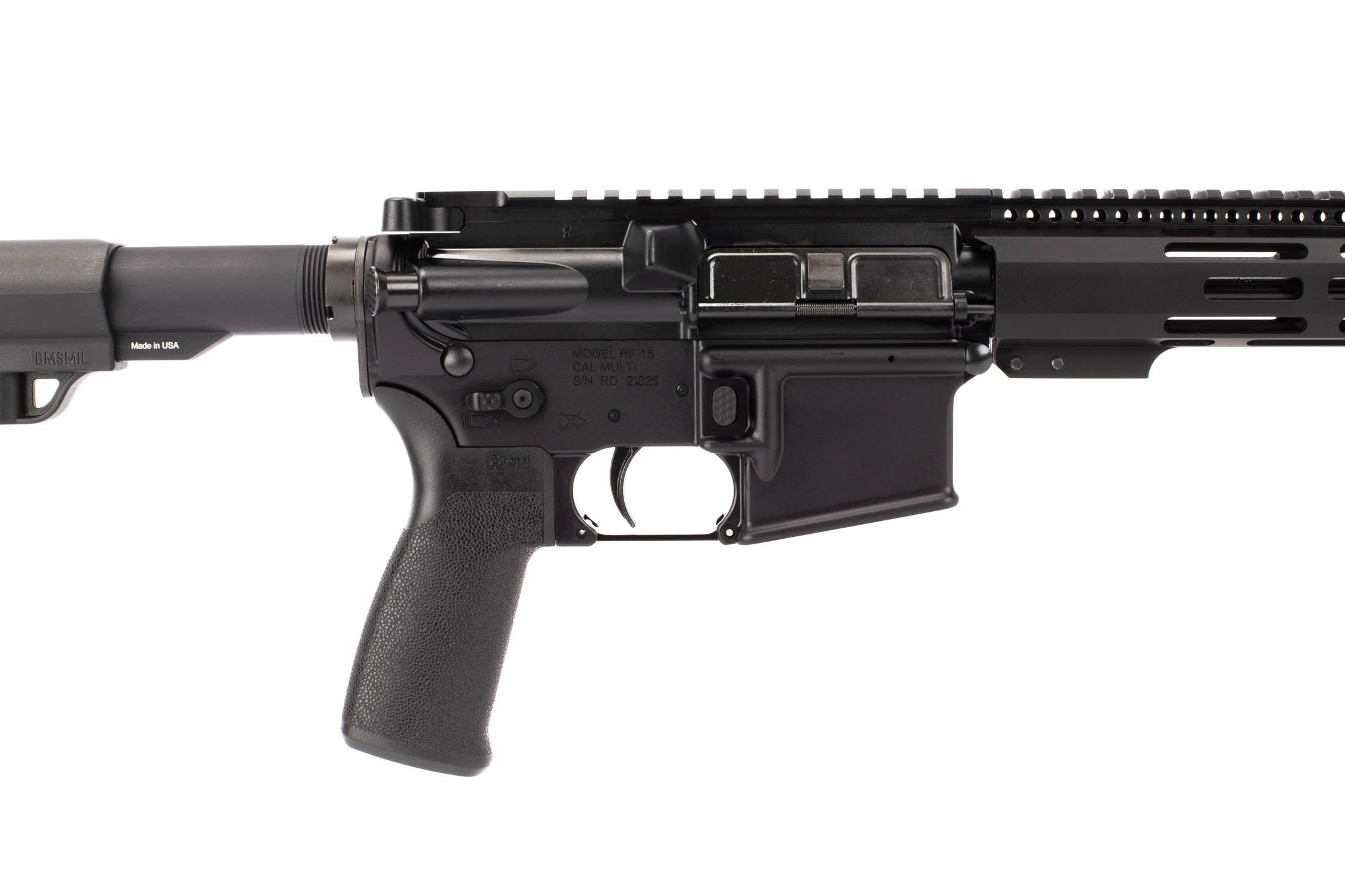 Radical Firearms 16in 5.56 NATO complete AR-15 with Mission First pistol grip, enhanced magazine release, and ambi safety