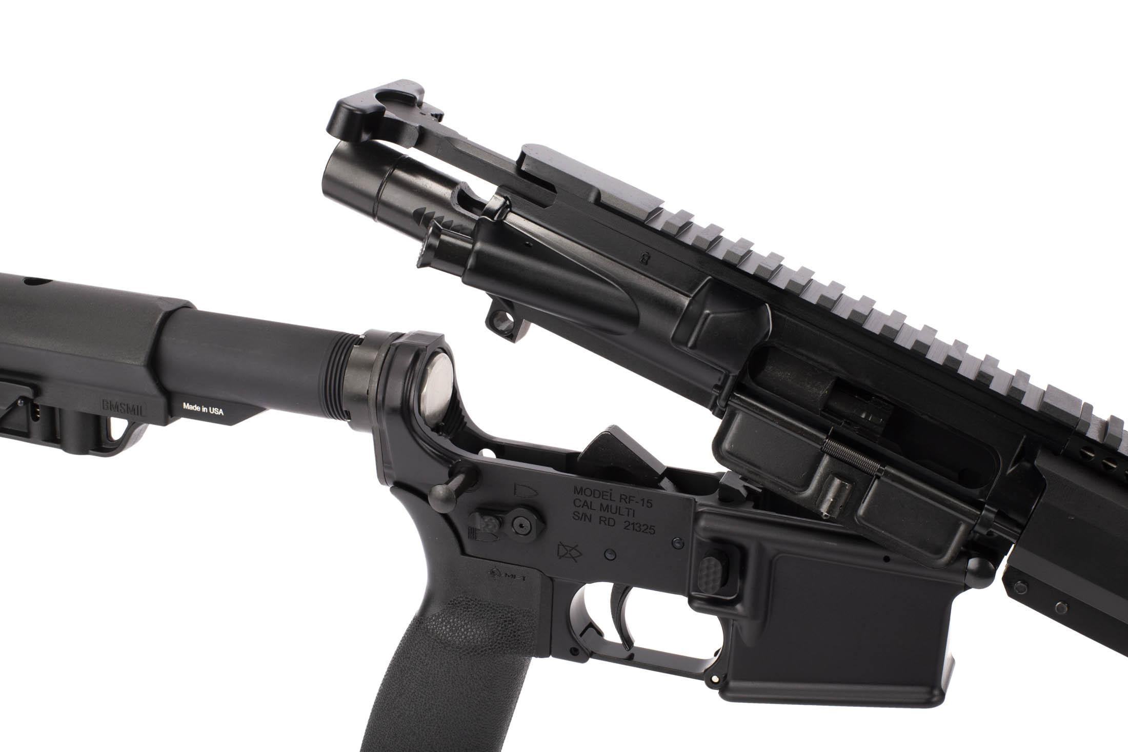 Radical Firearms 5.56 NATO AR-15 with 16in barrel has a carbine buffer and M16 bolt carrier group