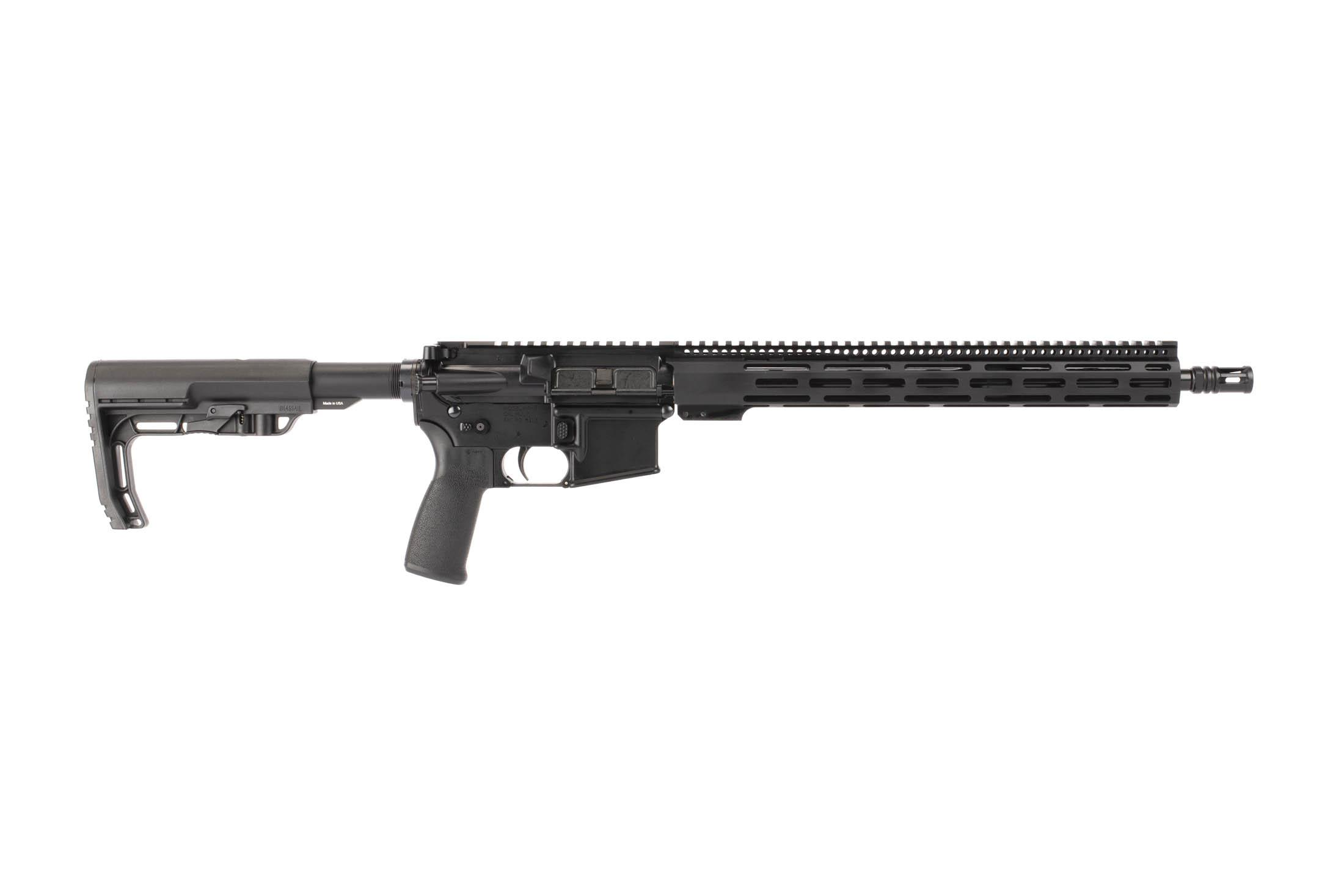 Radical Firearms 16in 5.56 NATO AR-15 features a full length 15in FCR Gen III M-LOK rail