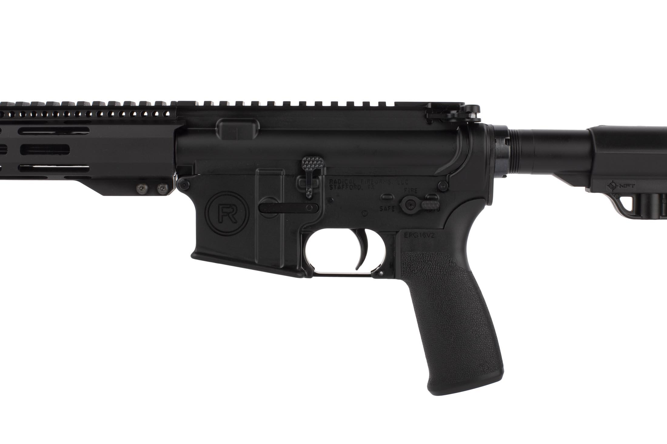 Radical Firearms 16in 7.62x39mm with Mission First Tactical grip