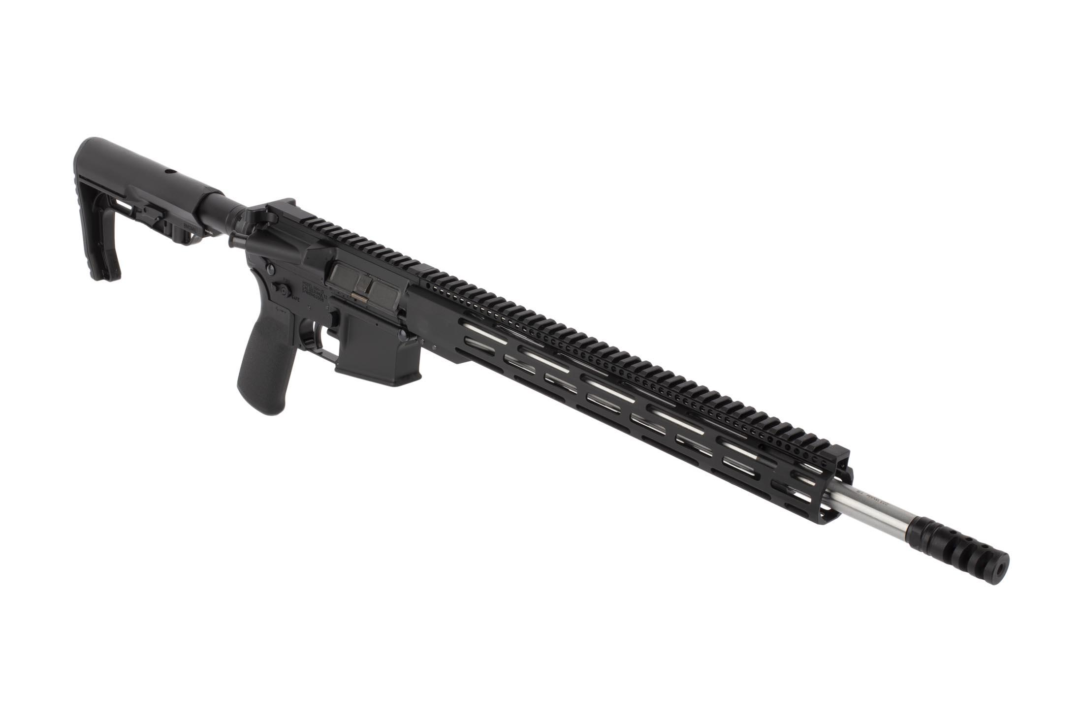 Radical Firearms 18in .223 Wylde AR-15 features a lightweight M-LOK handguard and effective A2 flash hider