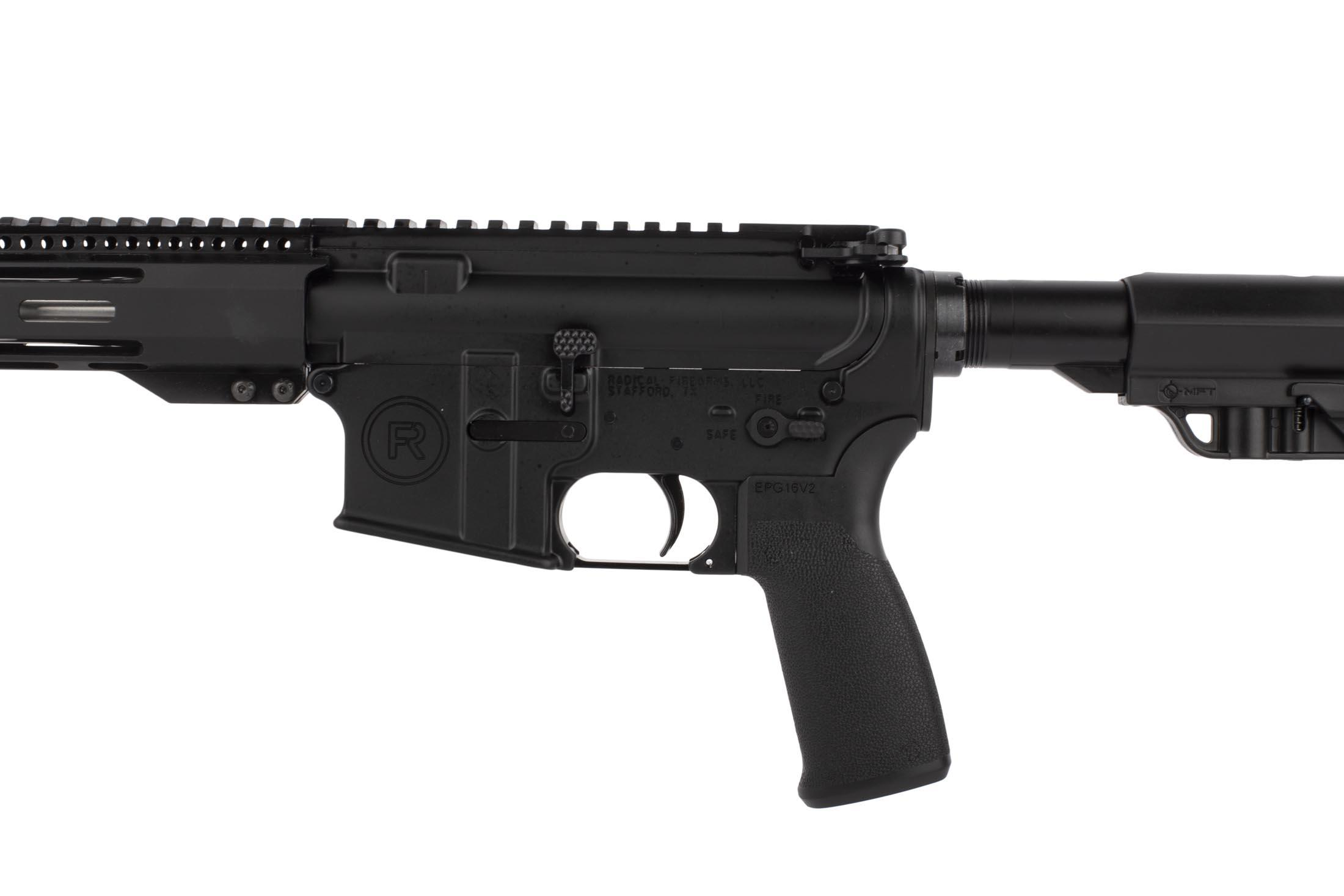 Radical Firearms 18in .223 Wylde with Mission First Tactical grip