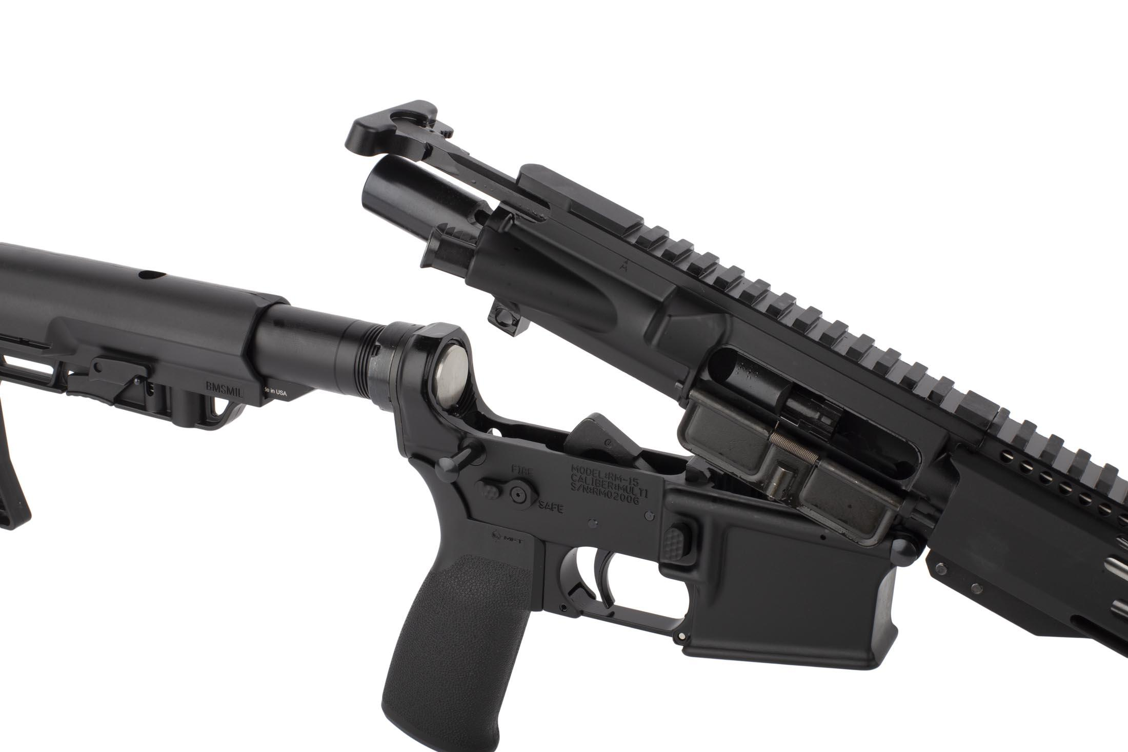 Radical 18in .223 Wylde AR15 featuers an M16 cut bolt carrier group and standard MIL-SPEC charging handle