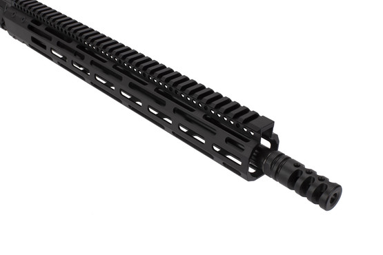 Radical Firearms 16in 300 BLK AR-15 rifle kit is threaded for 5/8x24 muzzle devices with a Zero Impulse muzzle brake