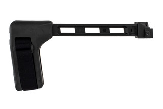 The SB Tactical FS1913 arm brace is compatible with firearms with rear mounted picatinny rails