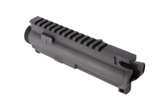 Radical stripped AR-15 forged upper is not t-marked and designed for right handed ejection