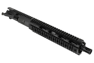 "Radical Firearms 10.5"" .300BLK HBAR Barreled Upper with 10"" Quad Rail No BCG and Charging Handle, FU10.5-300HBAR-10FQR"