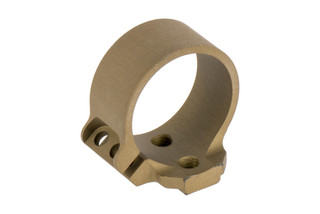 The Unity Tactical FUSION 1 inch Ring Light Mount features an FDE anodized finish