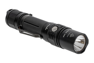 The Fenix PD35 Tactical flashlight is made from aluminum and features 1000 Lumens of light