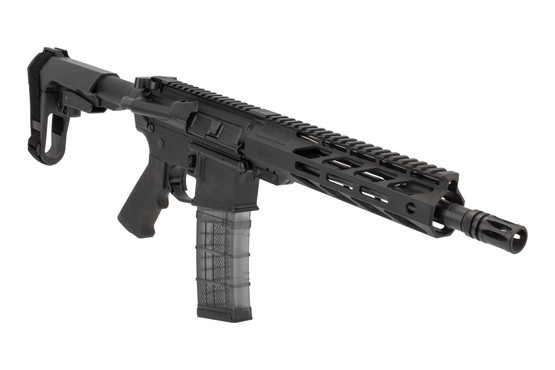 Faxon Firearms Ascent AR15 Pistol features an M-LOK handguard