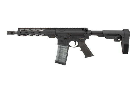 Faxon Ascent AR Pistol 5.56 features a carbine length gas system