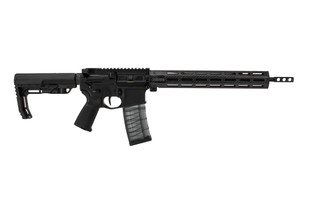 "Faxon Firearms ION Ultralight modern sporting rifle chambered for 5.56 NATO with a 16"" barrel"
