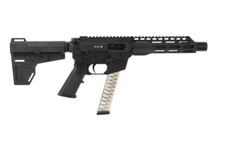Freedom Ordnance FX-9 9mm AR pistol features an 8.25 inch barrel