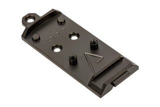 Agency Arms AOS Glock Slide Optic Cover Plate for Leupold DeltaPoint PRO. Standard cut.