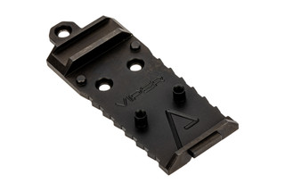 Agency Arms AOS Glock Slide Optic Cover Plate for Vortex Viper. Forward Sight cut.