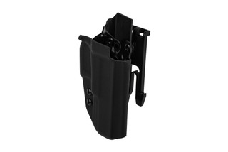 ANR Design Nidhogg Glock 17 OWB holster is made from black Kydex